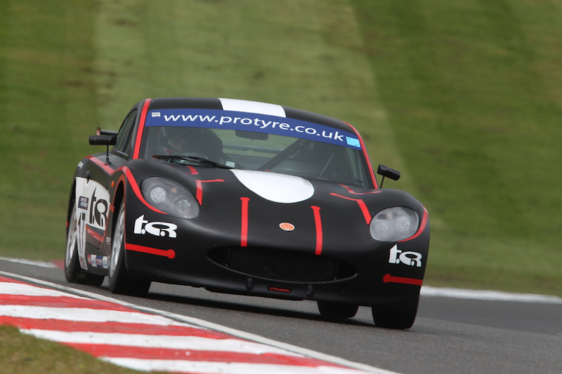 Matt Chapman Black and Red Ginetta GT5 Brands Hatch 2016