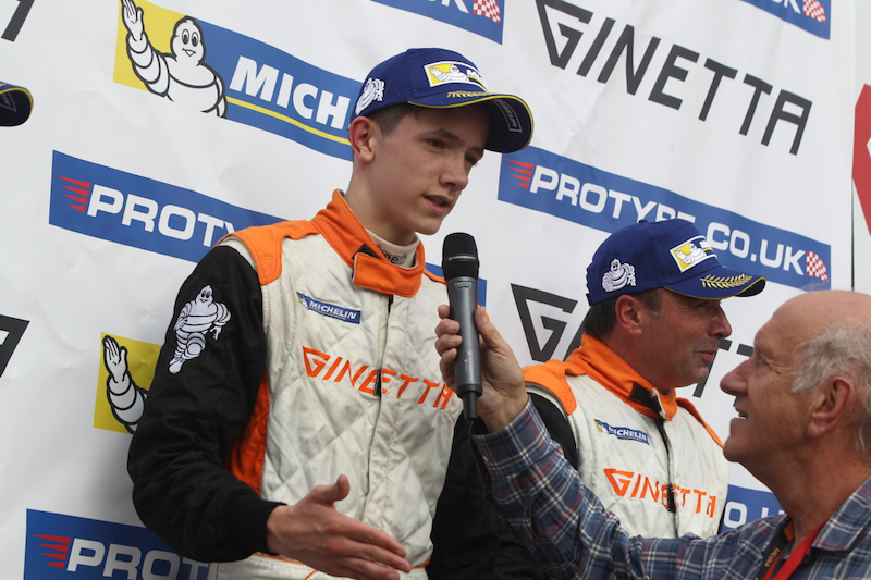 Matt Chapman Podium Interview GT5 Oulton Park
