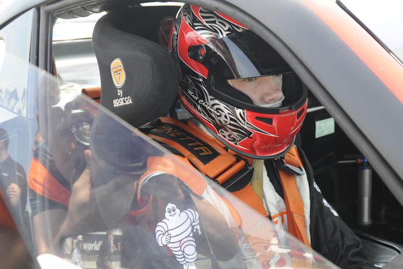 Matt Chapman ready for race GT5